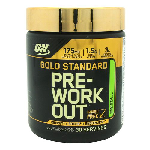 Optimum Nutrition Gold Standard Pre-Workout Supplement - view number 1
