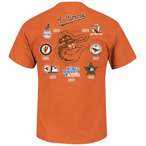 Majestic Men's Baltimore Orioles Last Rally T-shirt