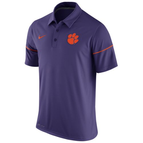 Nike Men's Clemson University Team Issue Polo Shirt