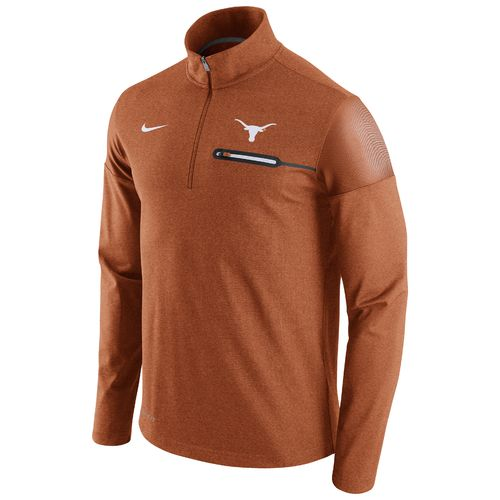 Nike™ Men's University of Texas Coaches 1/2 Zip Jacket