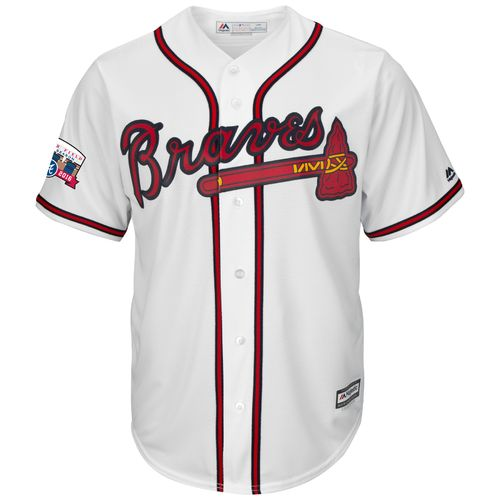 Majestic Men's Atlanta Braves Cool Base Replica Jersey