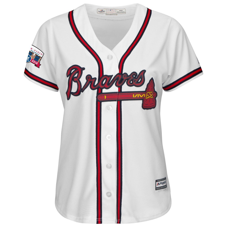 Majestic Women's Atlanta Braves Cool Base Replica Jersey
