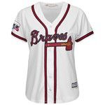Majestic Women's Atlanta Braves Cool Base Replica Jersey with Turner Field Patch