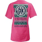 Three Squared Juniors' Louisiana Tech University Cheyenne T-shirt