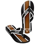 Forever Collectibles™ Men's University of Texas 2016 Contour Stripe Flip-Flops