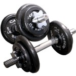CAP Barbell Regular 40 lb. Weight Set with Plastic Case - view number 2