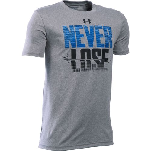 Under Armour® Boys' Never Lose Short Sleeve T-shirt