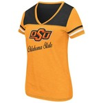 Colosseum Athletics™ Women's Oklahoma State University Rhinestone Short Sleeve T-shirt