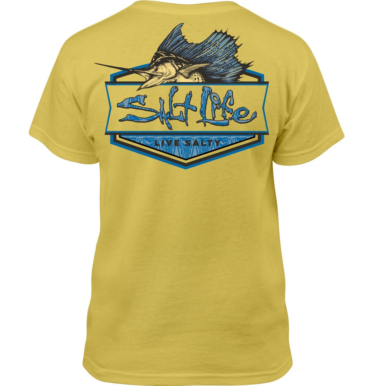 Salt Life Kids' Sailfish Badge T-shirt