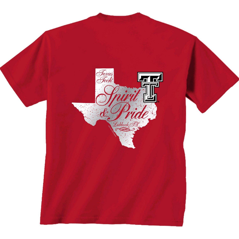 New World Graphics Women's Texas Tech University Silver