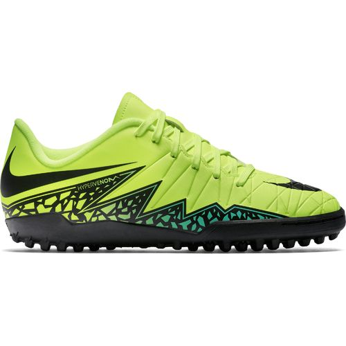 Nike Kids' HyperVenom Phelon II Turf Soccer Shoes