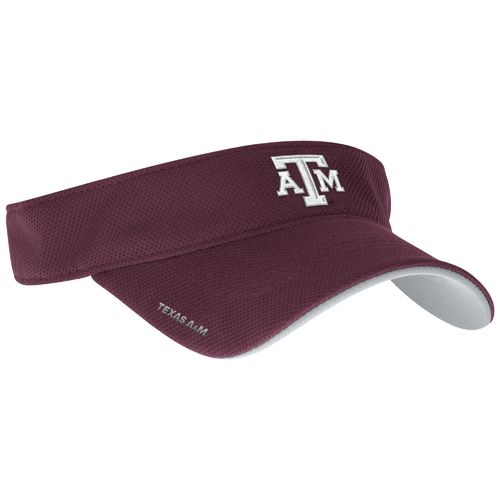 adidas Men's Texas A&M University Spring Game Sideline Adjustable Visor