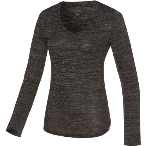 BCG™ Women's Horizon V-neck Long Sleeve Shirt