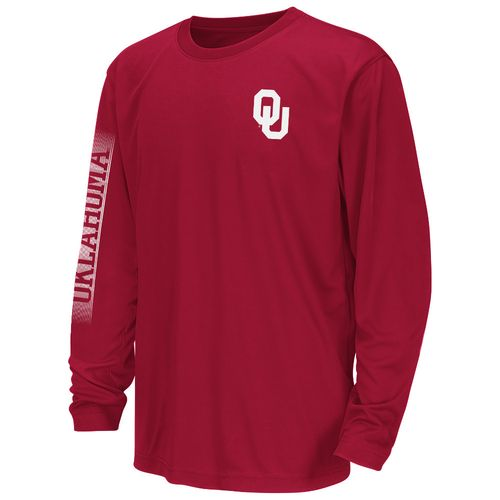 Colosseum Athletics™ Juniors' University of Oklahoma Long Sleeve T-shirt
