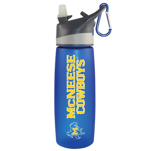 The Fanatic Group McNeese State University 24 oz. Frosted Sport Water Bottle