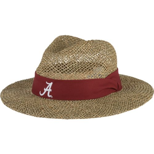 The Game Men's University of Alabama Straw Safari Hat