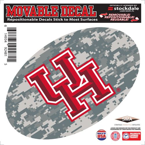 Stockdale University of Houston Oval Decal
