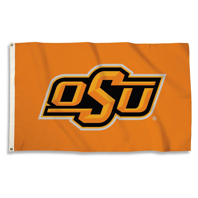 BSI Oklahoma State University 3'H x 5'W Flag