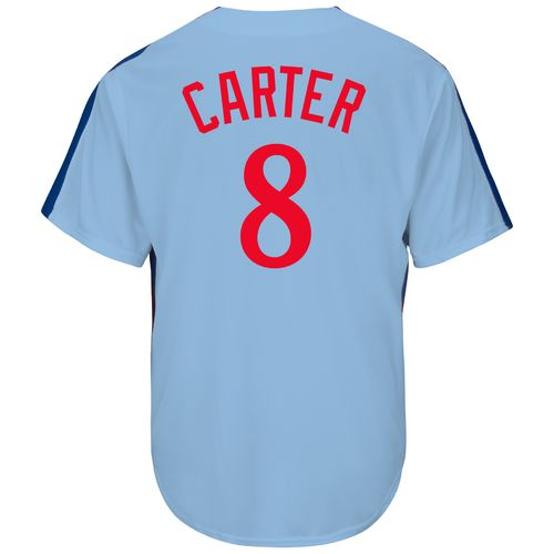 Majestic Men's Montreal Expos Gary Carter #8 Cooperstown Cool Base Replica Jersey - view number 1