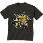 New World Graphics Men's Wichita State University Alt Graphic T-shirt