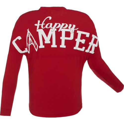 Above Wings™ Men's Wing Back™ Happy Camper Long Sleeve Shirt