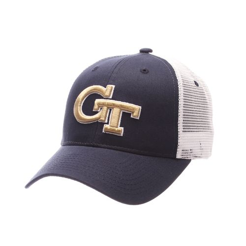 Zephyr Men's Georgia Tech Big Rig Meshback Cap