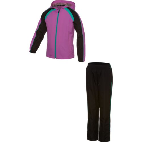 BCG™ Girls' Tricolor Hooded Windsuit Set