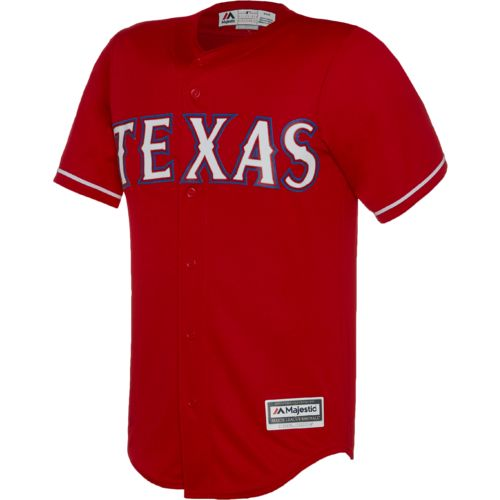 Majestic Men's Texas Rangers Nomar Mazara #30 COOL BASE® Jersey