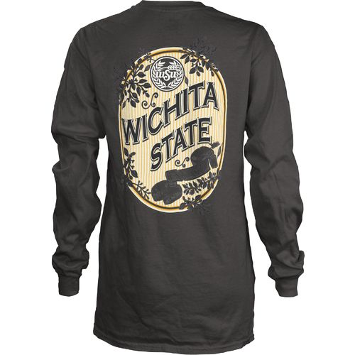 Three Squared Juniors' Wichita State University Maya Long Sleeve T-shirt