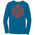 Image One Men's University of Florida Finest Shield Comfort Color Long Sleeve T-shirt