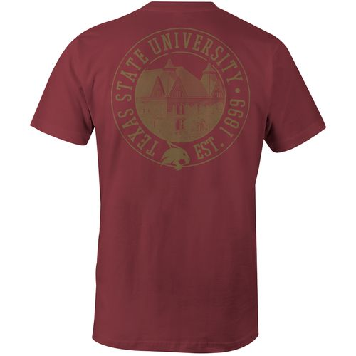 Image One Men's Texas State University Comfort Color T-shirt