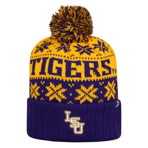 Top of the World Men's Louisiana State University Subarctic Knit Cap