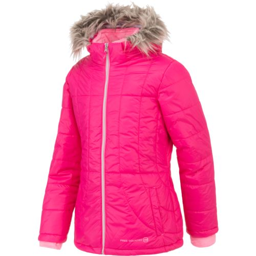 Free Country Girls' Cire Puffer Jacket