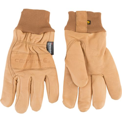 Carhartt Men's Insulated Leather Gunn Cut Gloves