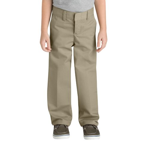 Display product reviews for Dickies Boys' Classic Fit Straight Leg Flat Front Pant