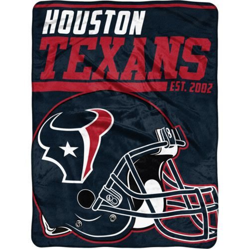 "NFL Houston Texans 40-Yard Dash 46"" x 60"" Micro Raschel Throw"