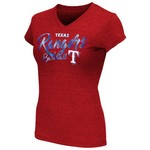 Touch by Alyssa Milano Women's Texas Rangers Alumni T-shirt