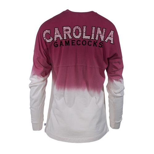 NCAA Women's University of South Carolina Ombré Tribal Football T-shirt