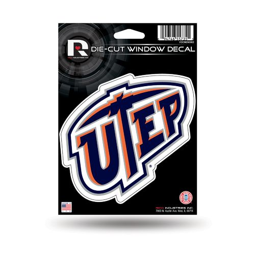 Rico University of Texas at El Paso Die-Cut Decal