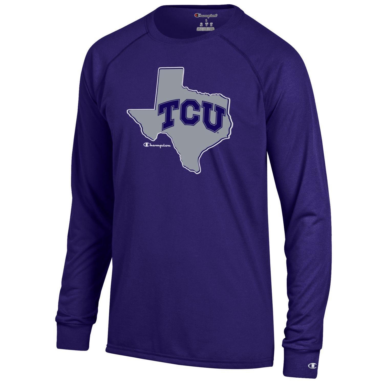 Champion™ Men's Texas Christian University Long Sleeve T-shirt