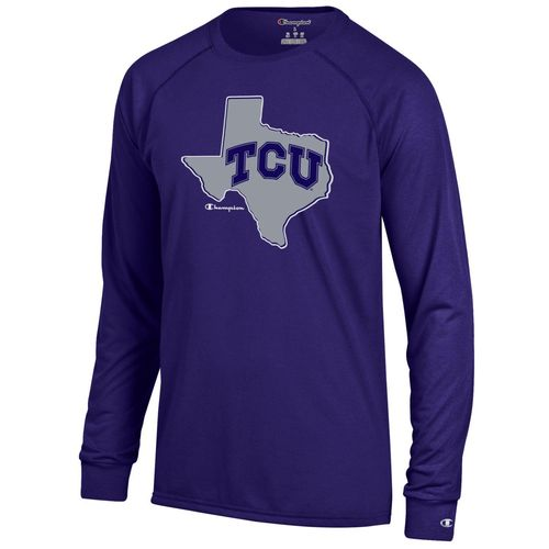 Champion™ Men's Texas Christian University Long Sleeve T-shirt
