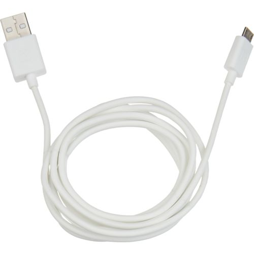 iHome 5' Soft Touch micro USB 2.0 Charge and Sync Cable