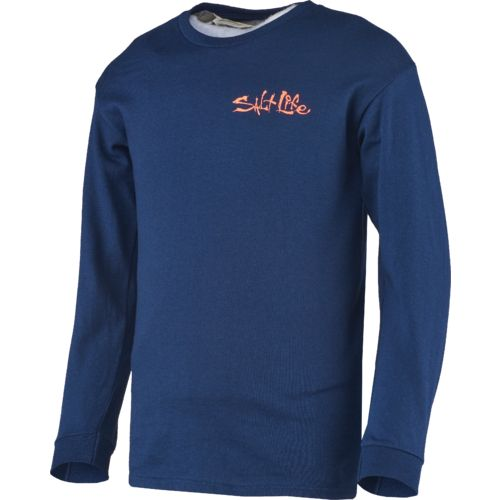Salt Life Kids' Hook Line and Sinker Long Sleeve T-shirt