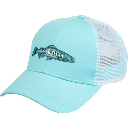Magellan Outdoors Men's Sketched Trout Trucker Cap