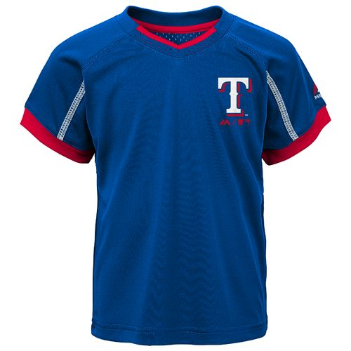 Majestic Toddlers' Texas Rangers Legacy Short Set