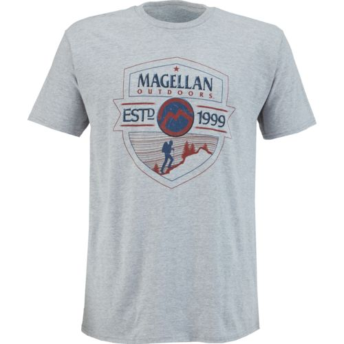 Display product reviews for Magellan Outdoors Men's Hiker Badge T-shirt