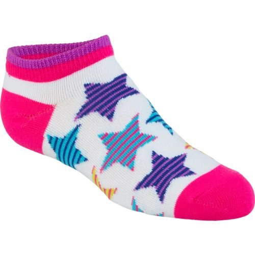 BCG Girls' Hippie No-Show Socks 6 Pairs