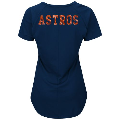 Majestic Women's Houston Astros Bright Lights T-shirt - view number 2