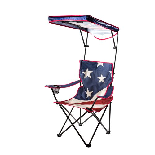 Quik Shade Adjustable Shade Canopy Folding Camping Chair - view number 1