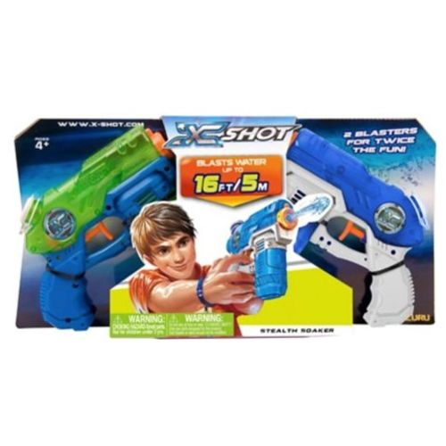 X-SHOT Stealth Soaker Small Water Blasters 2-Pack - view number 1